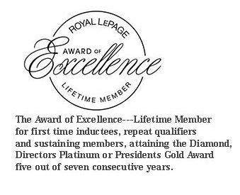 Dennee - royal lepage award of excellence